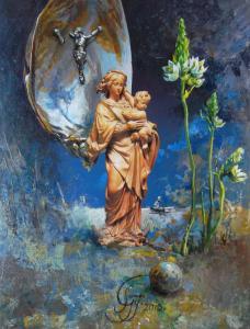 Expositie schilderijen van Gyula Somos