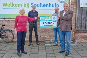 Donatie van Stichting Kringloopcentrum Spullenhulp Soest